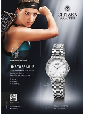 Victoria Azarenka Citizen celebrity endorsements