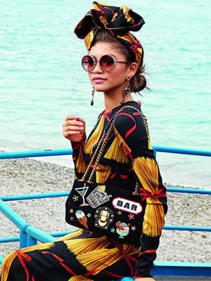 Zendaya Dolce and Gabbana Fashion Ad