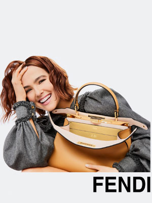 Zoey Deutch Fendi ad celebrity endorsements
