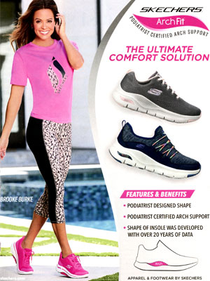 Brooke Burke Skechers Arch Fit Ad