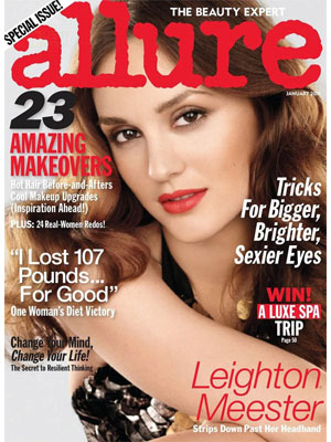 Leighton Meester, Allure, January 2011