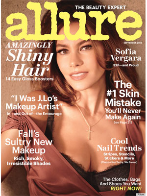 Sofia Vergara Allure Magazine September 2012