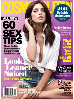 Ashley Greene Cosmopolitan, January 2011
