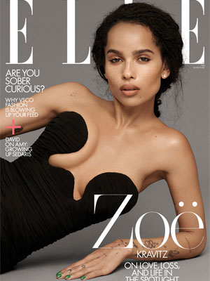 Zoë Kravitz Elle February 2020