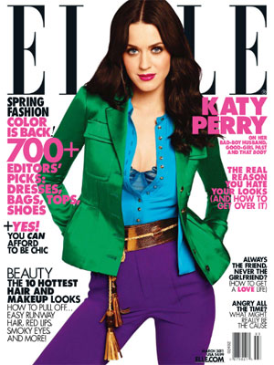 Katy Perry, Elle Magazine, March 2011