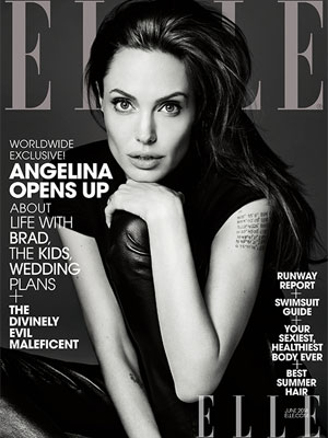 Angelina Jolie Elle Magazine June 2014