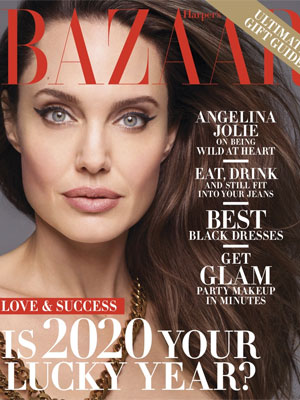 Angelina Jolie Harper's Bazaar December 2019 / January 2020
