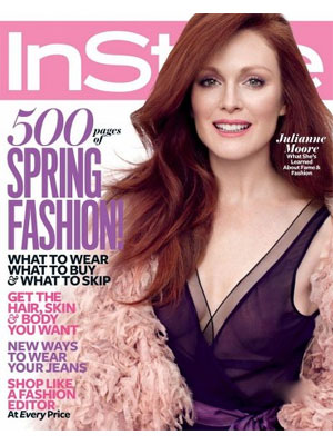 Julianne Moore InStyle Magazine, March 2011