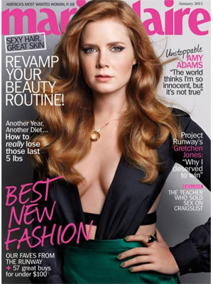 Amy Adams Marie Claire, January 2011