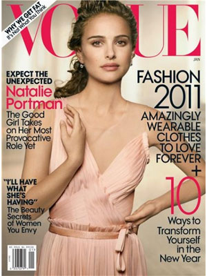 Natalie Portman Vogue, January 2011